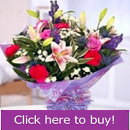 Mixed flower Esker florist bouquet