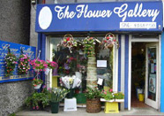 Shop front of the Flower Gallery