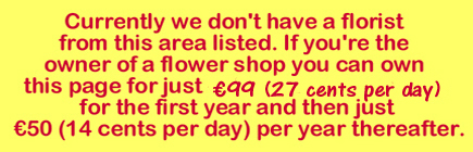 Esker Flower shop vacancy notice